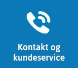 Kontakt kundeservice