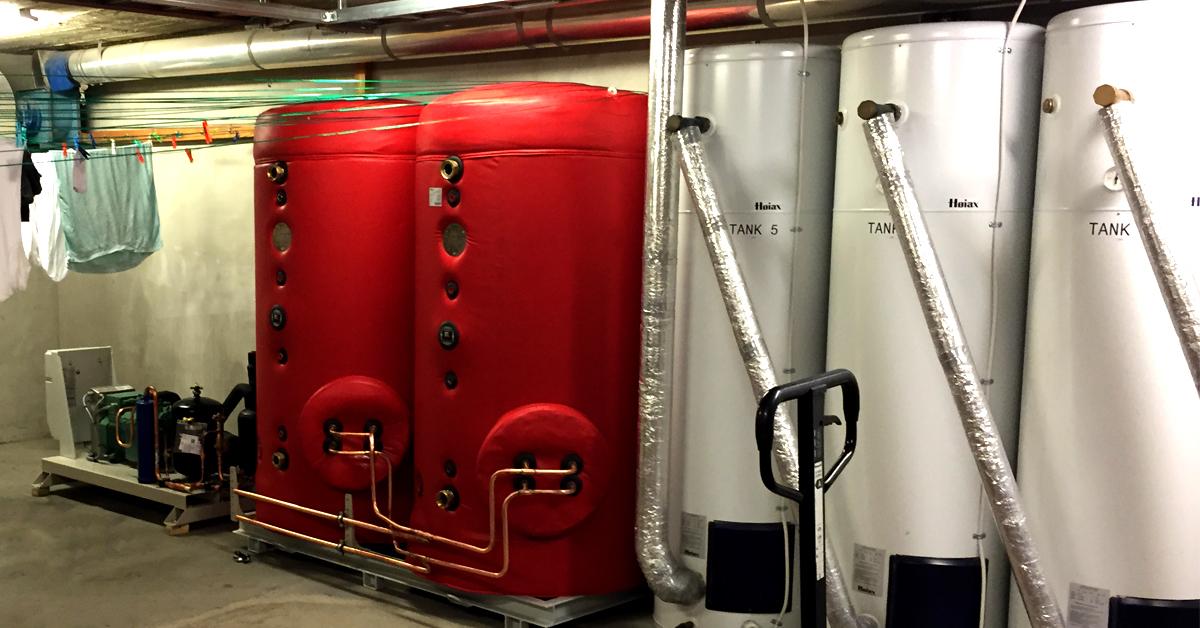 100% varmegjenvinning på Borgund FHS, levert av Tempra.