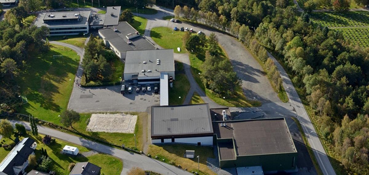 Borgund FHS, Flyfoto, Blogg