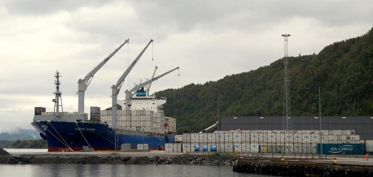 Flatholmen, Maersk Niagara, Blogg