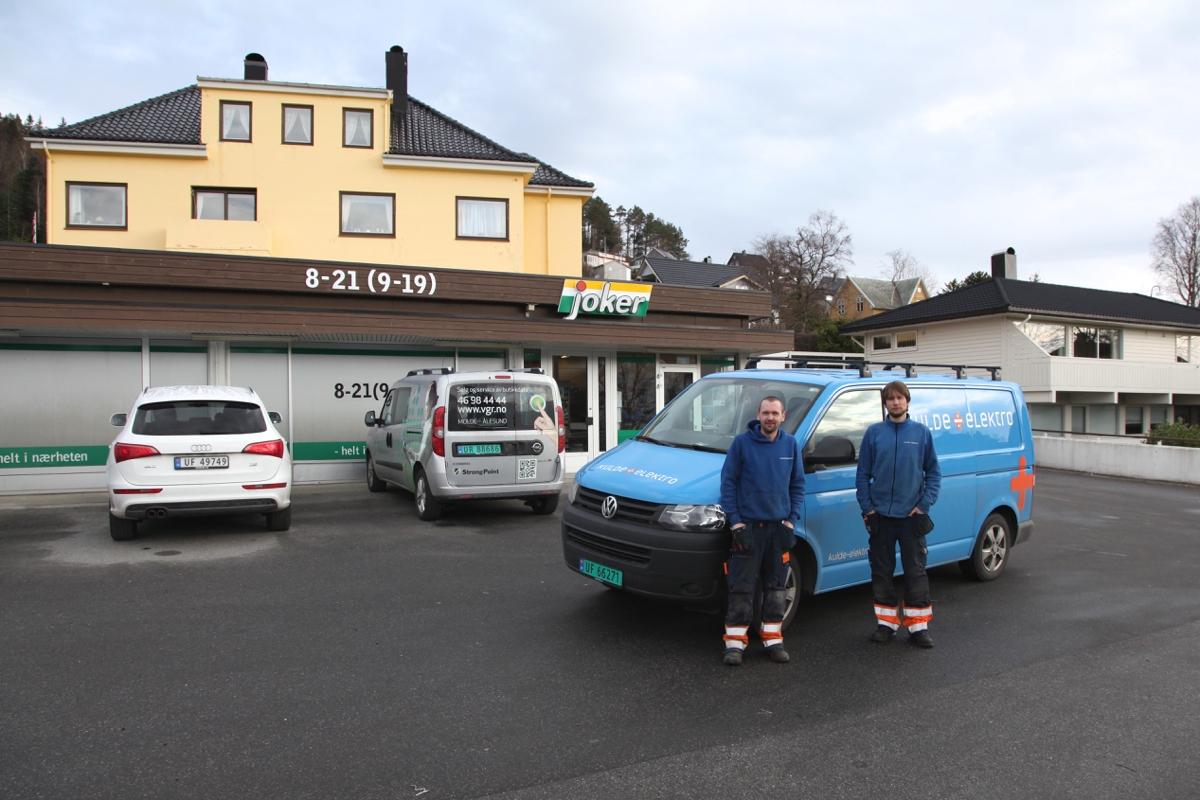 Mange kjenner lokalbutikken Joker Kolvikbakken, butikken som på 70-tallet var en stor og moderne butikk i Ålesund.