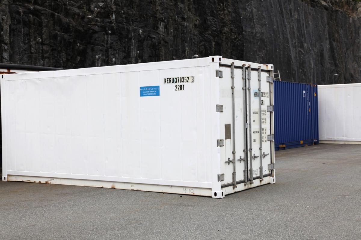 Container-kulde-elektro-utleie