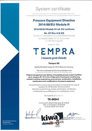 TEMPRA modul H H1 gjelder til 2019_09_28 SIGN