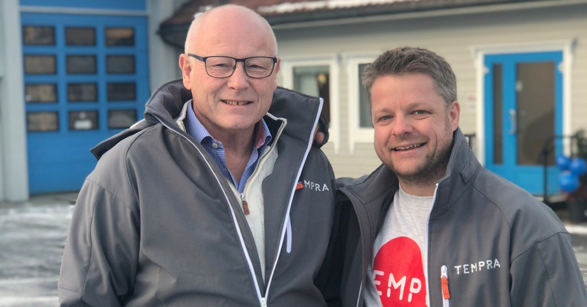 Øyvind Skulstad tar over som daglig leder etter Harald Skulstad