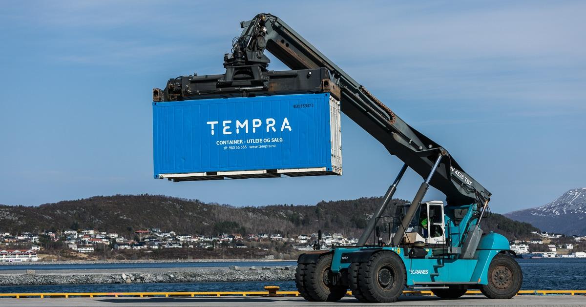 Container tempra