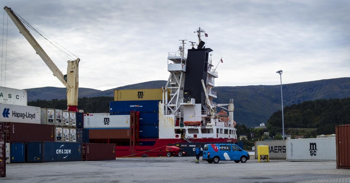 Containerstørrelser